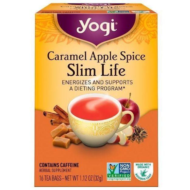 Yogi® Caramel Apple Spice Slim Life Tea - Energizes and Supports a Dieting Program