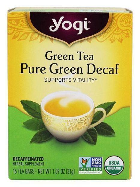 Yogi® Green Tea Pure Green Decaf - Supports Vitality