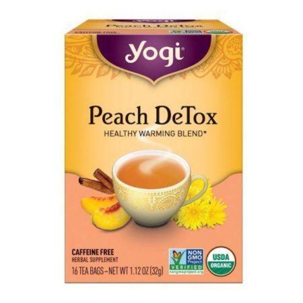 Yogi® Peach DeTox Tea - Healthy Warming Blend