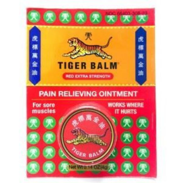 Tiger Balm® Red Pain Relieving Ointment Extra Strength (Small)