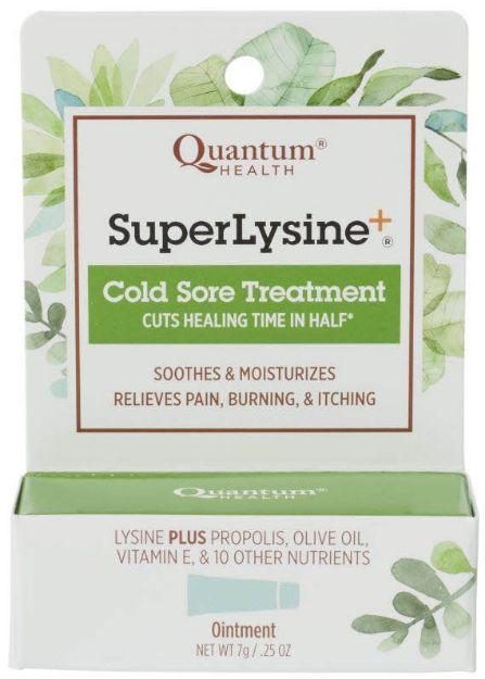 Quantum® Super Lysine+ Cold Sore Treatment