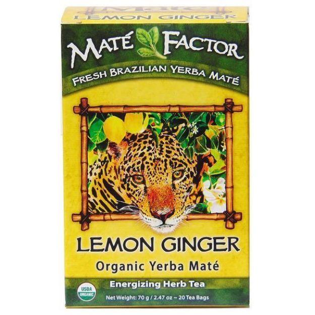 Mate Factor Lemon Ginger Yerba Mate Tea