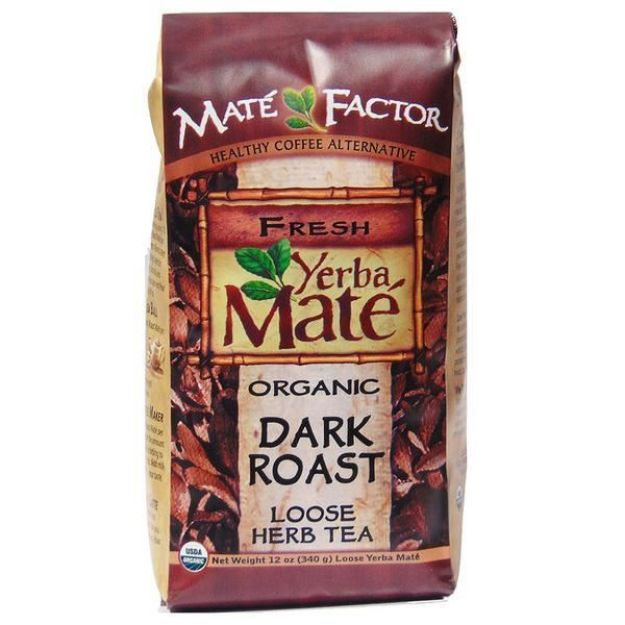 Maté Factor Dark Roast Loose Leaf Yerba Mate Tea