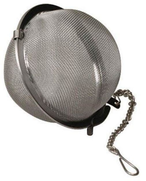 "Stainless Steel Mesh Ball (2-1/2"")"
