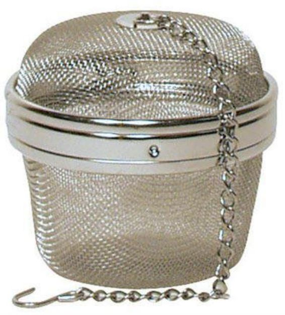 "Stainless Steel Mesh Tea / Spice Ball (3"")"