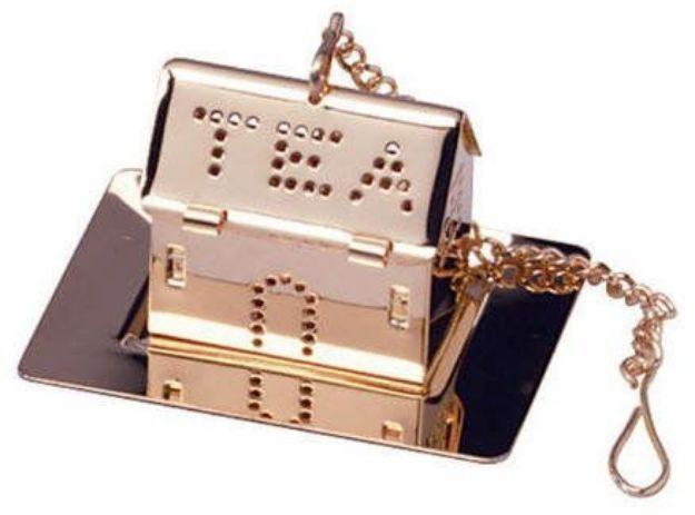 """Tea House Stainless Steel Tea Infuser (1-1/4"""")"""