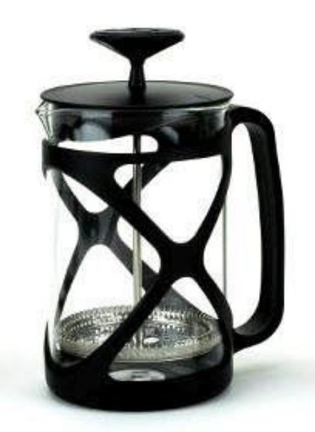 Tea & Coffee Press (Black - 24oz)