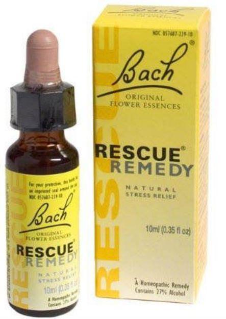 Bach Flower Remedies Rescue Remedy Flower Essence 10 ML