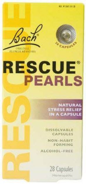 Bach Flower Remedies Rescue Pearls 28 Capsules