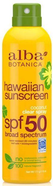 Alba Botanica Coconut Clear Spray Hawaiian Sunscreen SPF 50