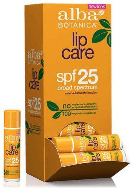 Alba Botanica Lip Care SPF 25