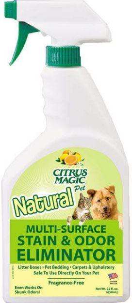 Citrus Magic Pet Multi-Surface Stain and Odor Eliminator (22 fl. oz.)
