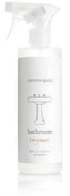 Bathroom Cleaner - Bergamot (16 fl. oz., Common Good)