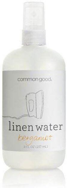 Linen Water - Bergamot (8 fl. oz., Common Good)