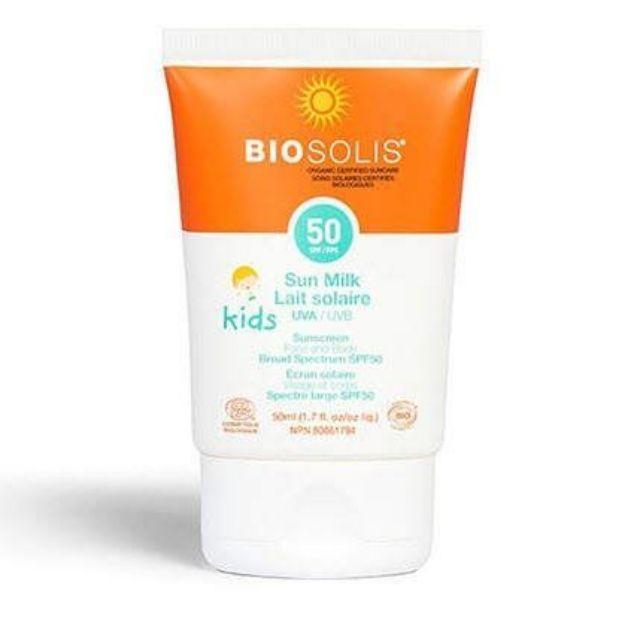 Kid's Sun Milk - SPF 50 (Biosolis)