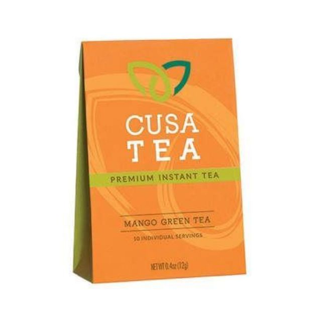 Instant Mango Green Tea (Cusa)