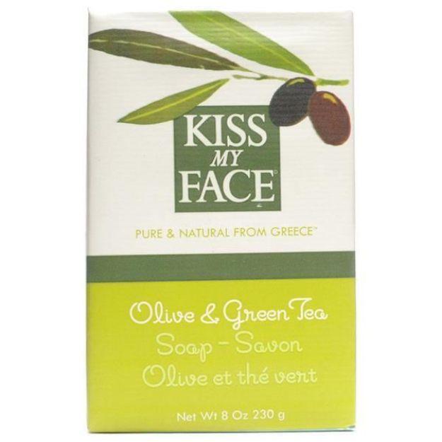 Olive & Green Tea Bar Soap (8 oz., Kiss My Face)