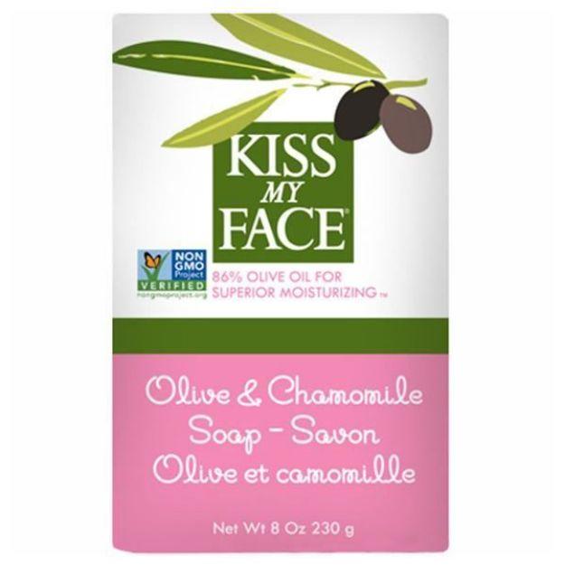 Olive & Chamomile Bar Soap (8 oz., Kiss My Face)
