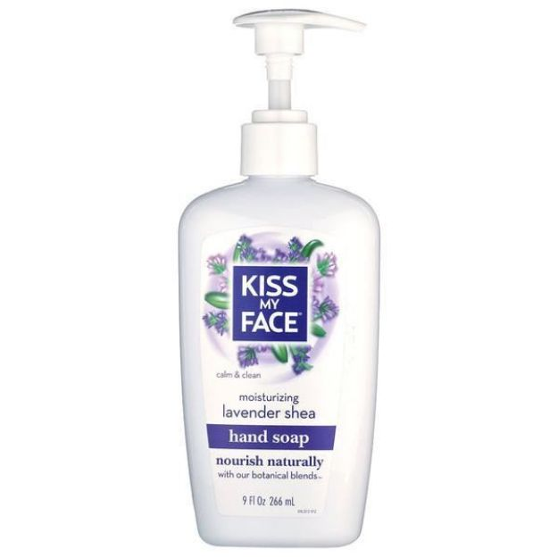 Lavender Shea Moisturizing Hand Soap (9 fl. oz., Kiss My Face)