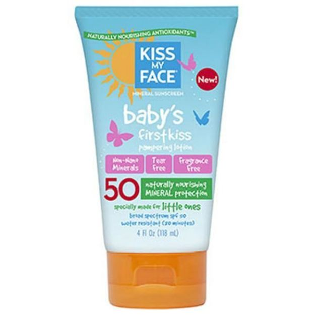 Baby's First Kiss Pampering Lotion  (SPF 50, 4 oz., Kiss My Face)