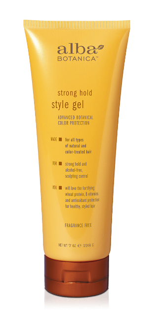 Strong Hold Style Gel (7 fl. oz., Alba Botanica)