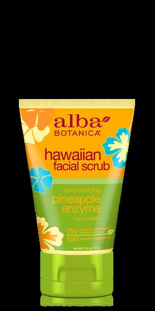 Facial Scrub - Pineapple Enzyme (4 oz., Alba Botanica)