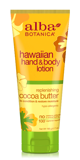 Hand & Body Lotion - Cocoa Butter (7 oz., Alba Botanica)