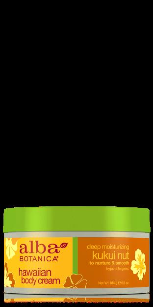 Body Cream - Kukui Nut (6.5 oz., Alba Botanica)