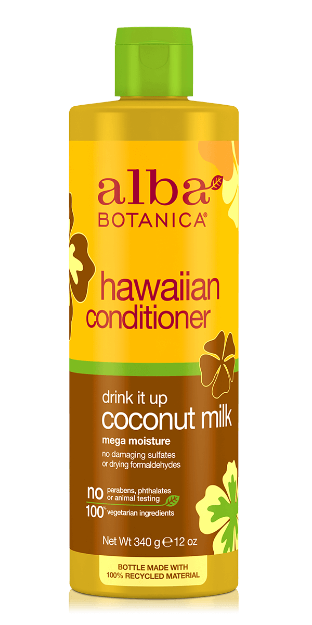 Conditioner - Coconut Milk (12 fl. oz., Alba Botanica)