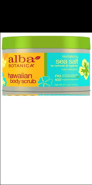 Body Scrub - Sea Salt (14.5 oz., Alba Botanica)