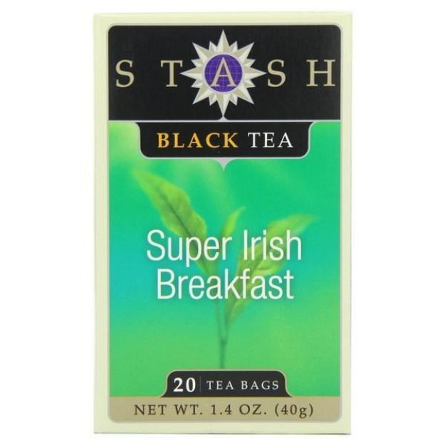 Irish Breakfast (20 tea bags, Stash Tea)