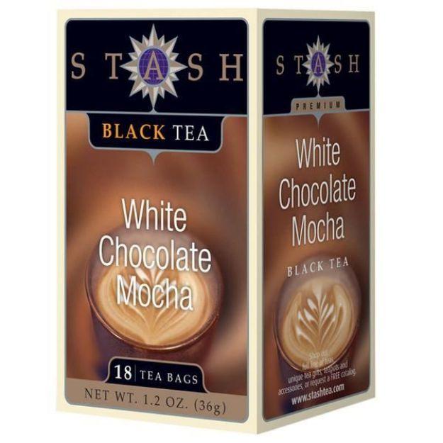 White Chocolate Mocha (18 tea bags, Stash Tea)