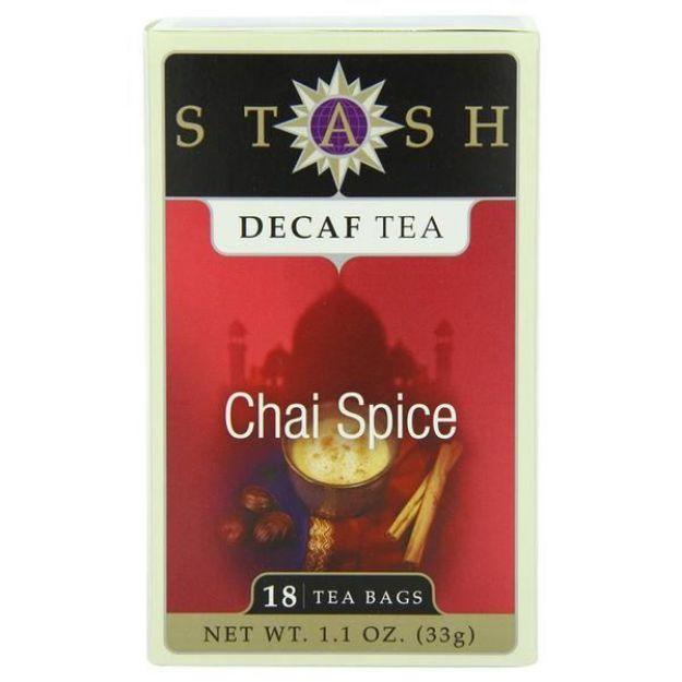Chai Spice Decaf (18 tea bags, Stash Tea)