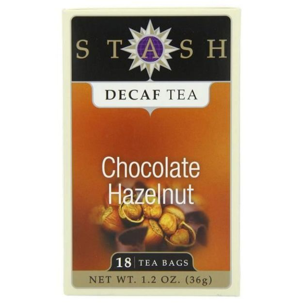 Chocolate Hazelnut Decaf (18 tea bags, Stash Tea)