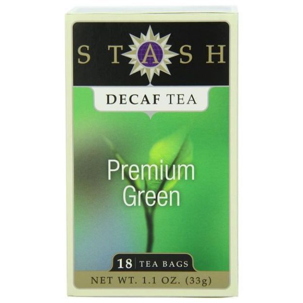 Premium Green Decaf (18 tea bags, Stash Tea)