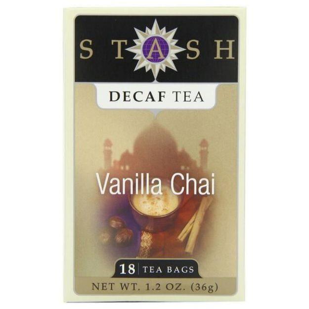 Vanilla Chai Decaf (18 tea bags, Stash Tea)