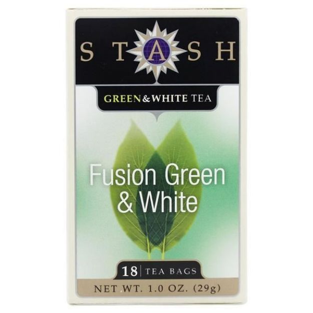 Fusion Green & White (18 tea bags, Stash Tea)