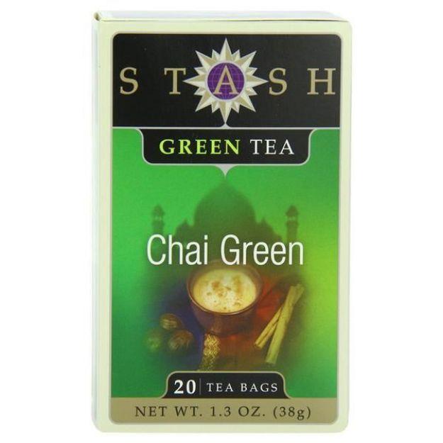 Chai Green (20 tea bags, Stash Tea)