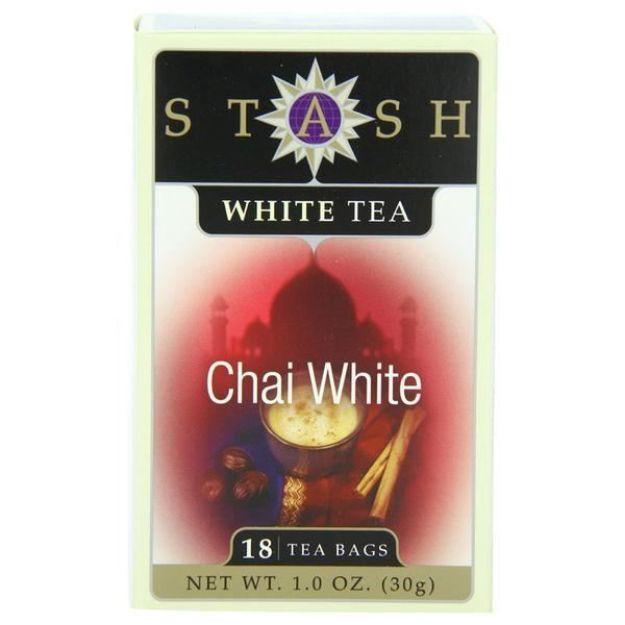 Chai White (18 tea bags, Stash Tea)