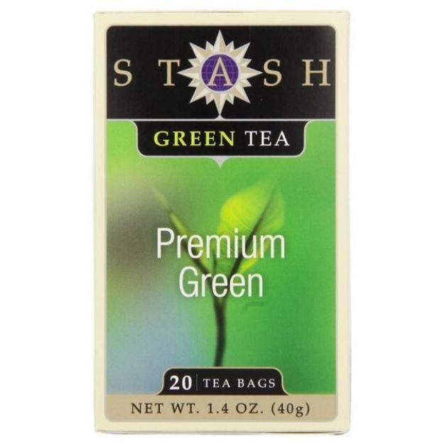 Premium Green (20 tea bags, Stash Tea)
