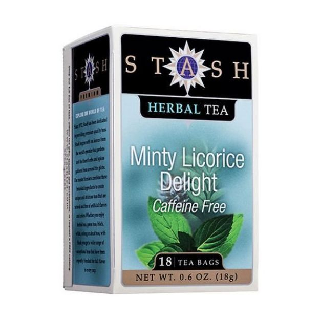 Minty Licorice Delight (18 tea bags, Stash Tea)
