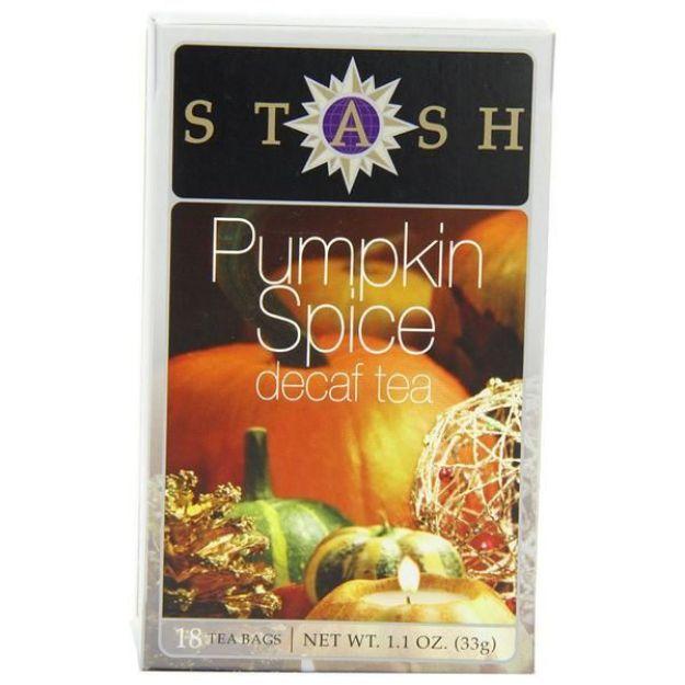 Pumpkin Spice Decaf (18 tea bags, Stash Tea)