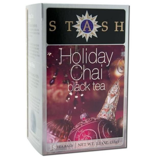 Holiday Chai Black Tea (18 tea bags, Stash Tea)