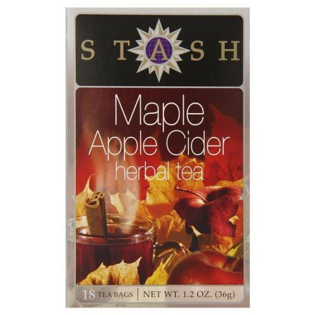 Maple Apple Cider Herbal Tea (18 tea bags, Stash Tea)
