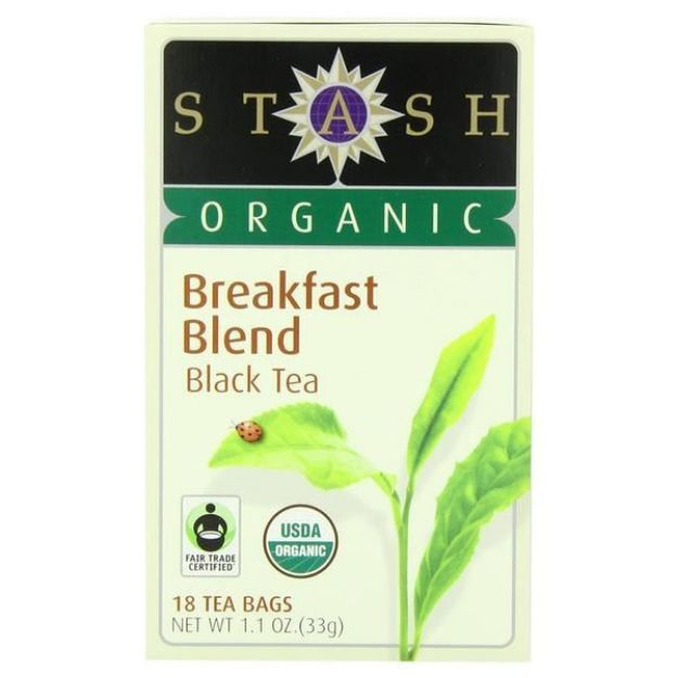 Breakfast Blend Tea (18 tea bags, Stash Tea)