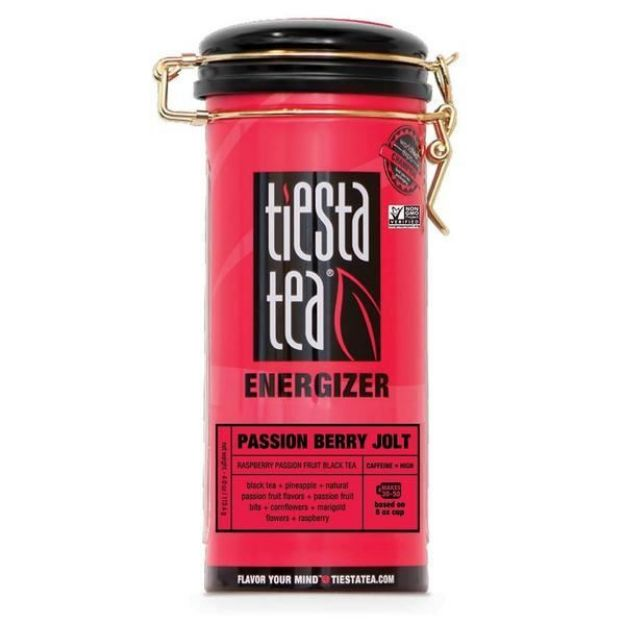 Passion Berry Jolt Tea (4.0 oz. tin - Tiesta Tea)