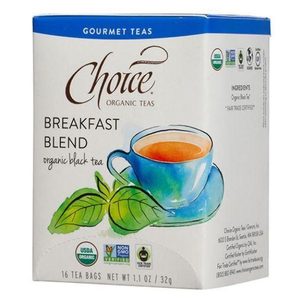Breakfast Blend Black Tea (16 tea bags - Choice Teas)