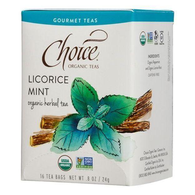 Licorice Mint Gourmet Tea (16 tea bags - Choice Teas)