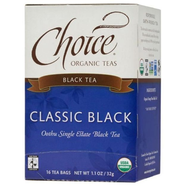 Classic Black Tea (16 tea bags - Choice Teas)