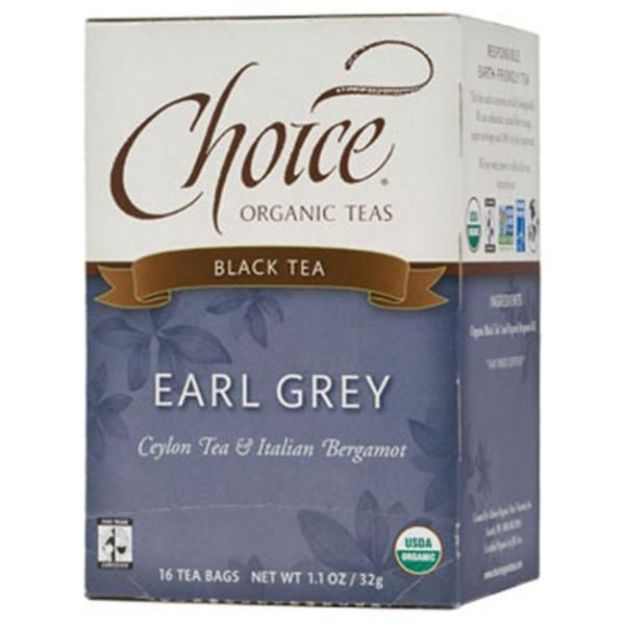 Earl Grey Black Tea (16 tea bags - Choice Teas)